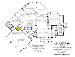 tranquility elevation b house plan house plans by garrell