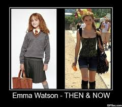 Emma Watson Meme - pictures emma watson then and now