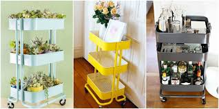 kitchen cart ideas ikea raskog cart ideas raskog ikea hacks
