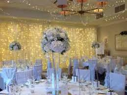 wedding backdrop fairy lights wedding by design