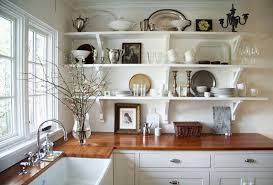 White Kitchen Cabinets  White Kitchen Cabinets With Butcher Block - White kitchen cabinets with butcher block countertops