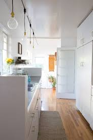 Kitchen Track Lighting Pictures Diy Kitchen Track Lighting Solution Apartment Therapy