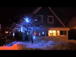 lights falling snow effect