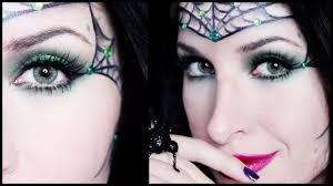 Vampire Halloween Makeup Tutorial Spider Princess Halloween Makeup Tutorial