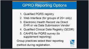 pqrs registries vhqc on demand tutorial practice reporting option gpro