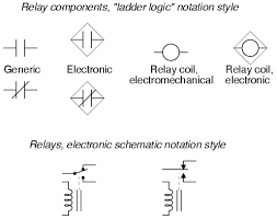 switches electrically actuated relays circuit schematic