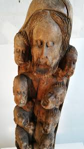 large wood sculpture large religious carved wood sculpture of jesus and twelve
