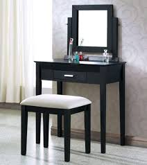 bedrooms black makeup vanity vanity bench girls vanity table