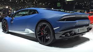 Lamborghini Huracan All Black - 2016 geneva motor show lamborghini huracan avio lp610 4