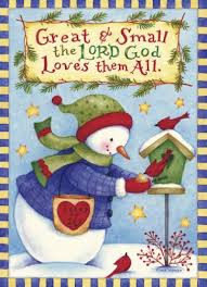 card wording ideas engelbreit lord and snowman