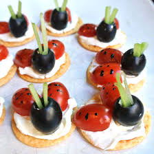 appetizer canape what s for dinner ladybug canape appetizers gluten free