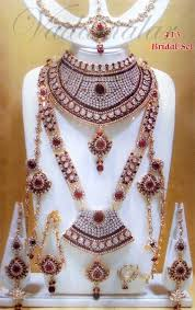 white colour necklace images 183 60 designer kundan jewellery set red and white colour stones jpg