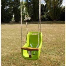 siège bébé pour balançoire siège bébé pour portique vert la grande récré vente de jouets