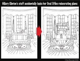 oval office redecoration clinton proposed oval office redecoration leaked