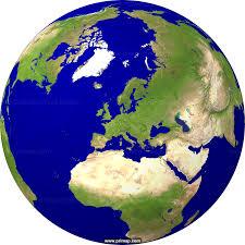 Sattelite World Map by Primap World Maps