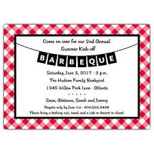 barbecue cookout invitation wording paperstyle