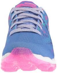skechers kids girls u0027 skech air jumparound running shoe blue multi