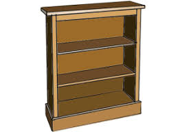 Simple Wooden Bookshelf Plans by Free Woodworking Plans How To Make A Bookcase
