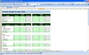 Mortgage Spreadsheet Template 15 Free Personal Budget Spreadsheet Excel Spreadsheet Part 2