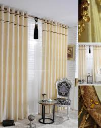 Decorative Wood Curtain Rods Decor Elegant Bay Windows Design With Silver Extra Long Curtain