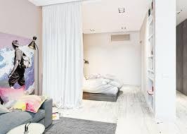separation chambre herrlich separation avec rideau haus design