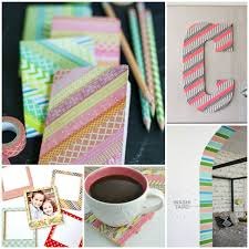 things to do with washi tape 16 incredibly cool things to do with washi tape