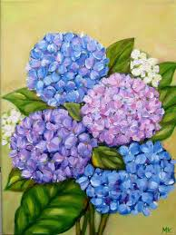 flower hydrangea hydrangea flower painting artists and their