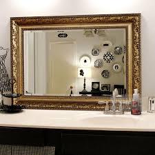 decorative bathroom mirrors can make your bathroom a showplace