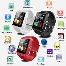 10pcs lot bluetooth smart watch mtk wrist watch u watch u8 watch
