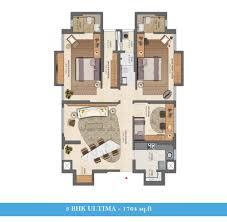 floorplans lodha amara codename megastar thane