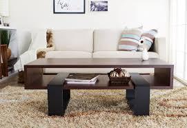 handmade live edge dark walnut coffee table by cabinet effects
