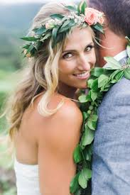 wedding flowers hawaii 54 best leis style images on babys breath crown