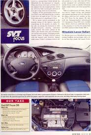 nissan sentra vs ford focus 2003 ford focus svt vs competition article