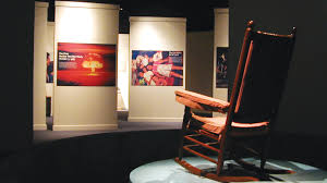 John F Kennedy Rocking Chair John F Kennedy The Exhibition St Petersburg Fl Mam Exhibit