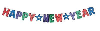 Happy New Year Decorations by Happy New Year Glitter Letter Banner New Year Decorations