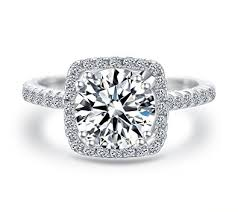 image of wedding ring women wedding ring 2 carat brilliant cubic