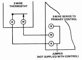 for a double pole thermostat wiring diagram double line break