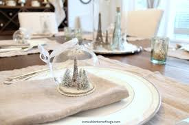 two french christmas tablescapes so much better with age