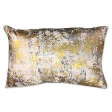 Metallic Cowhide Pillow Modern Metallic Colored Pillows Zinc Door