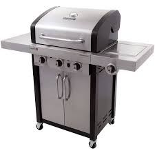 Char Broil Outdoor Patio Fireplace by Char Broil Professional Ir 420 3 Burner Gas Grill Walmart Com