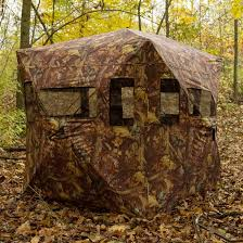 Utv Hunting Blind Camouflage Portable Ground Hunting Tent Stealth Deer Hunting And