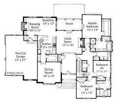 Jack And Jill Bedroom Floor Plans Country Style House Plan 3 Beds 2 5 Baths 2570 Sq Ft Plan 429