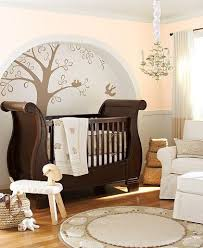 brown crib for elegant baby room the essential furniture for