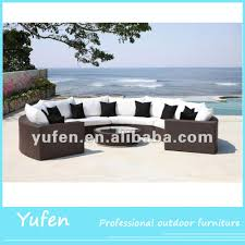 Half Moon Tables Living Room Furniture by Used Rattan Furniture Half Moon Sofa Buy Half Moon Sofa Used