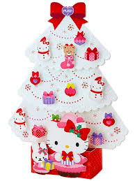 Hello Kitty Christmas Tree Decorations Hello Kitty White Christmas Tree Lights U0026 20 Melodies Pop Up
