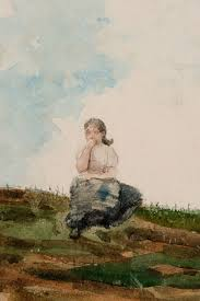 W Homer Artist by Watching From The Cliffs Reynolda House Museum Of American Art