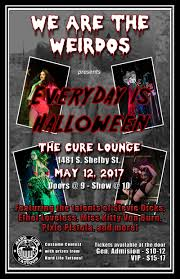 everyday is halloween in louisville at the cure lounge