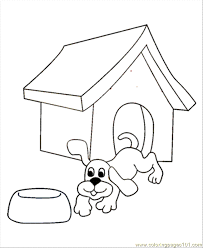 dog coloring pages online cute dog coloring page free dog coloring pages