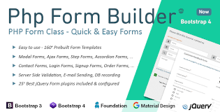 design form using php php form builder by migli codecanyon
