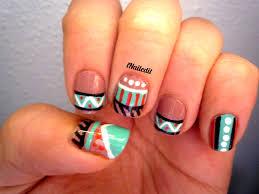 nail art 12 tribal nails inailedit